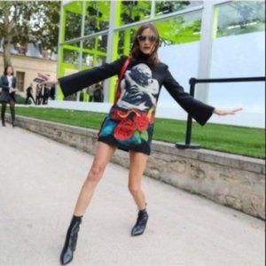 Mockneck Dress or Tunic (XS/00 - Teal)